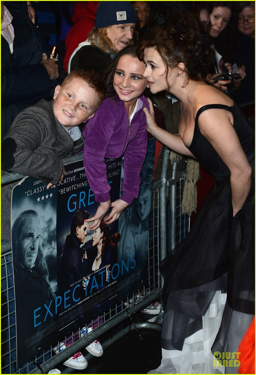 helena bonham carter jeremy irvine great expectations 272742160