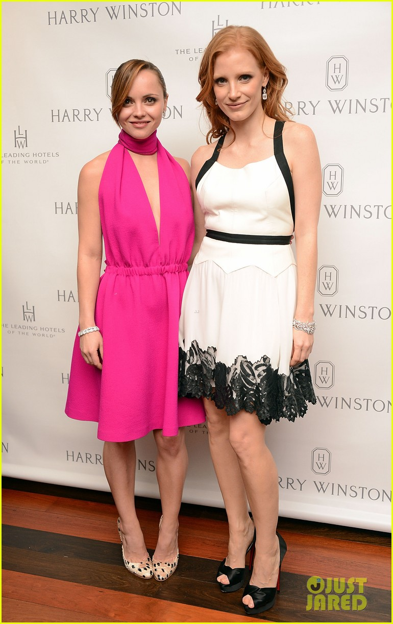 jessica chastain harry winston dinner honoree 052743250