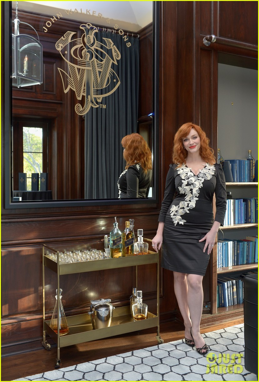 Christina hendricks house of walker surprise tasting for Hendricks house