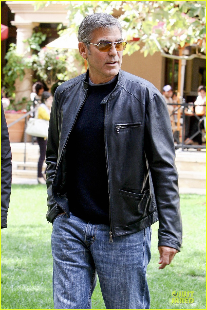 george clooney 58000 lunch date 02