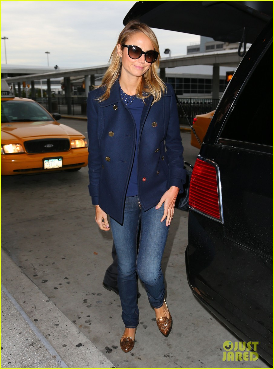 george clooney stacy keibler new york city duo 05