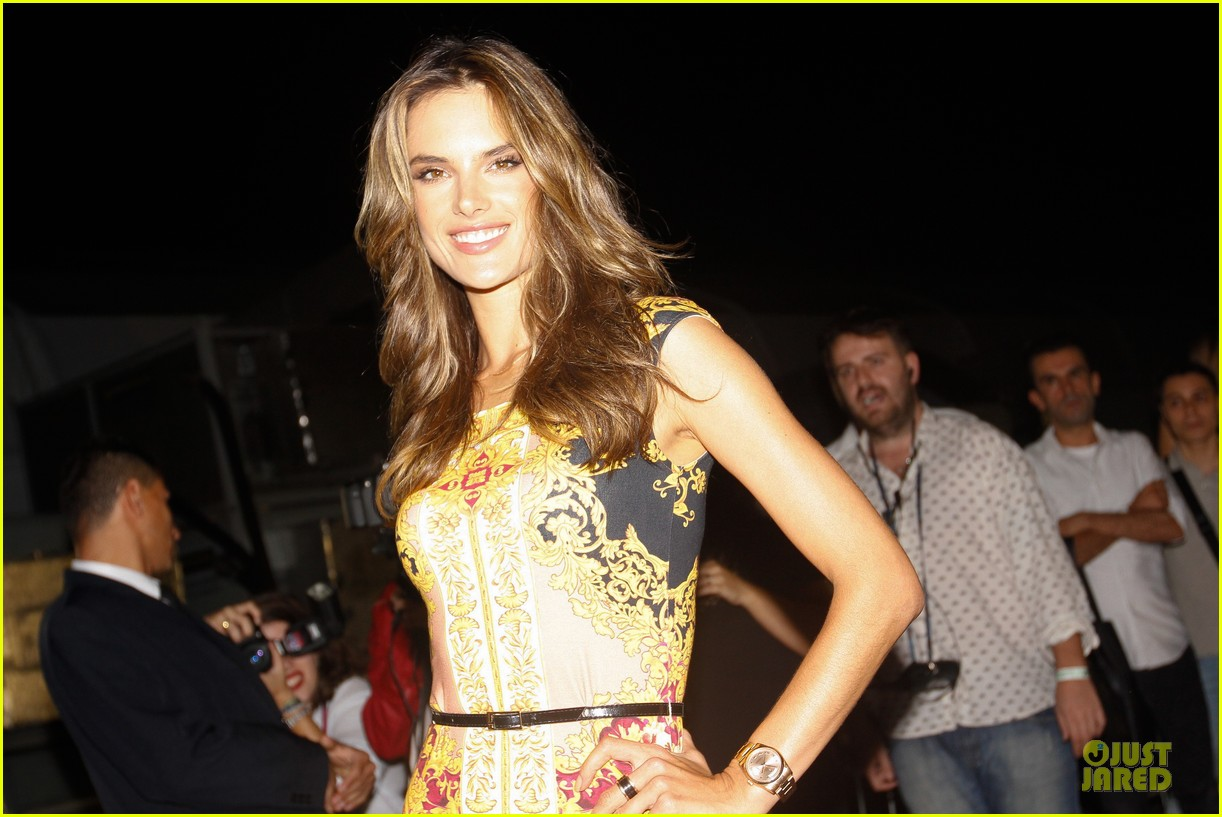 alessandra ambrosio colcci spring fall 2013 collection model 292748734