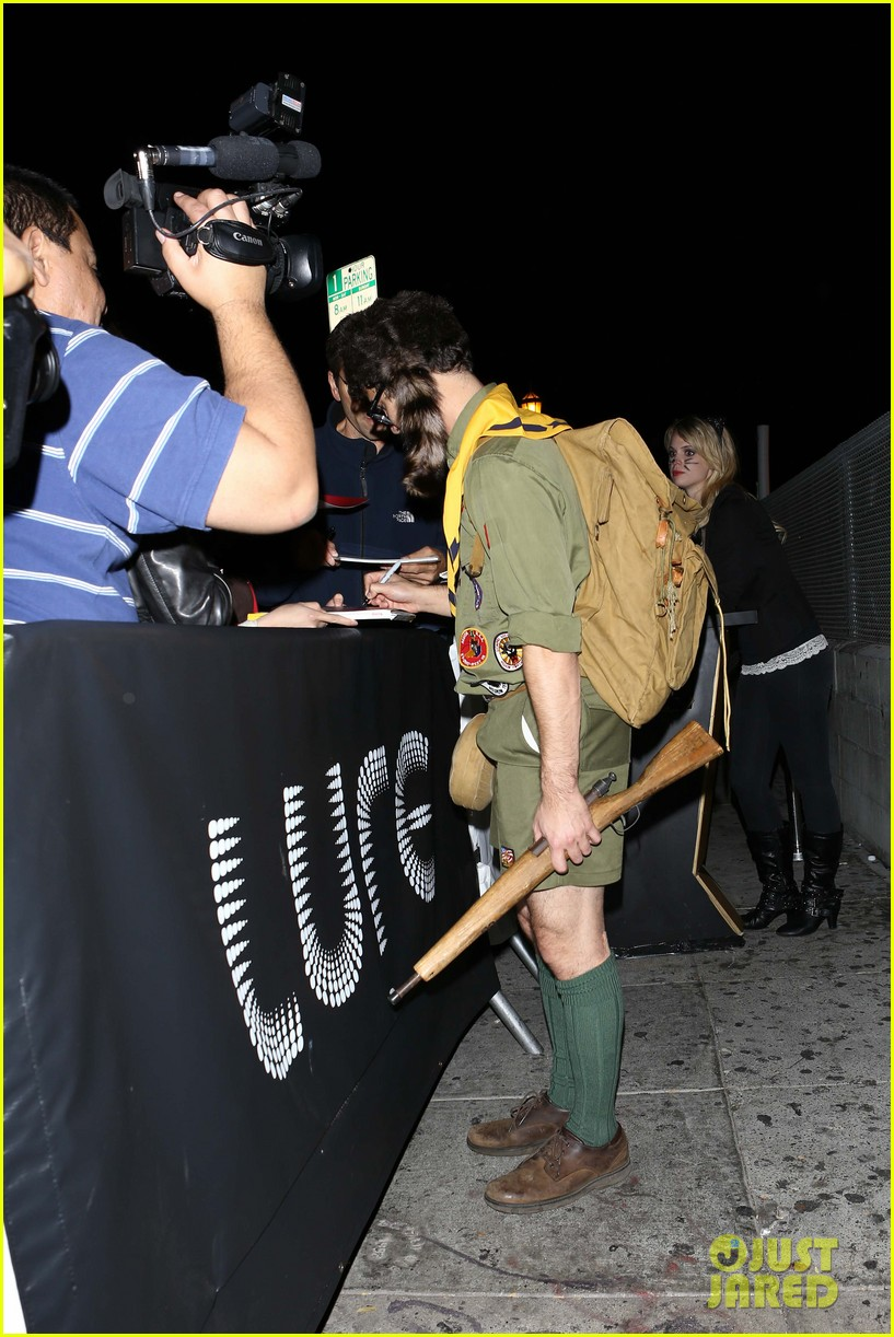 chris colfer darren criss matthew morrison halloween party 212747799