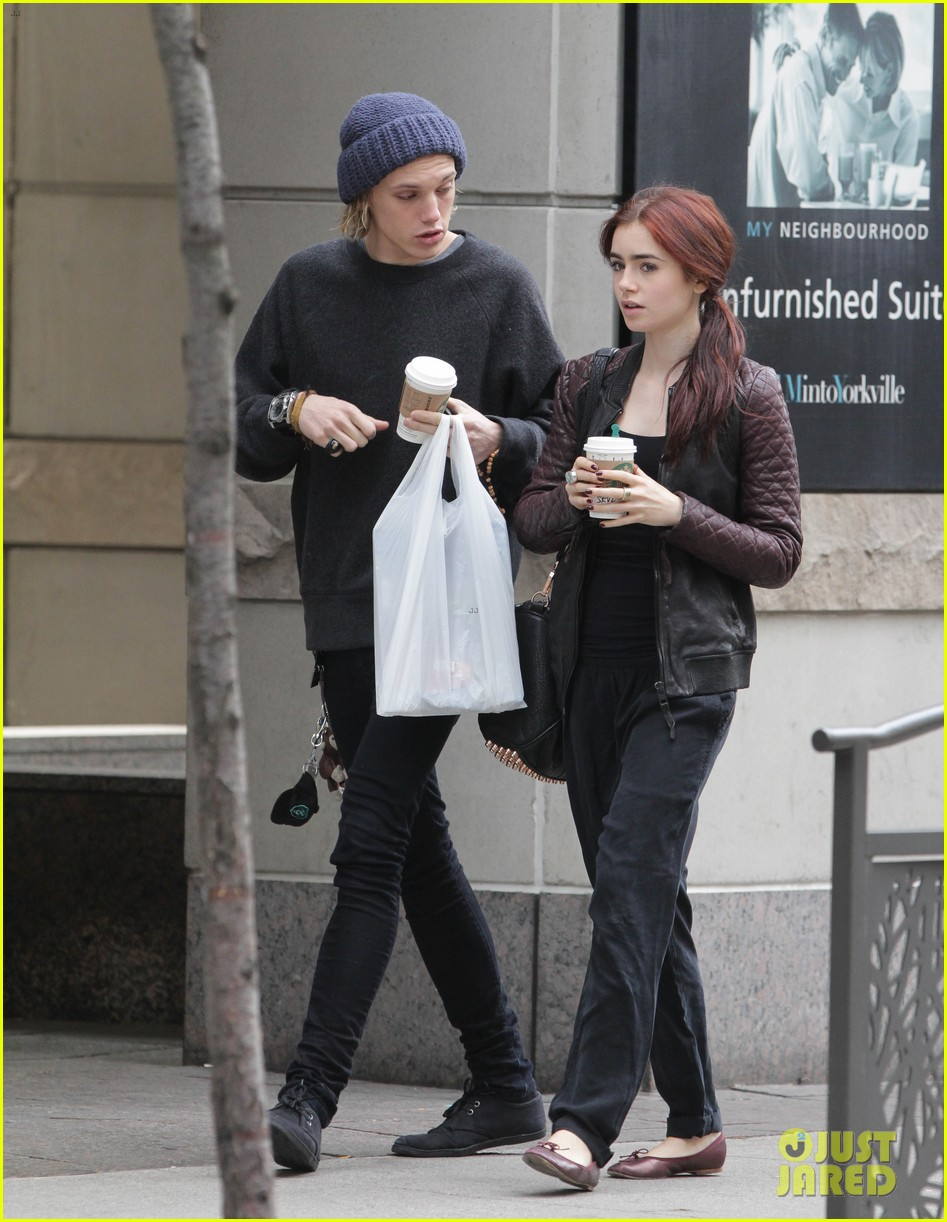Lily Collins: Morning Coffee with Jamie Campbell Bower! | Jamie ...