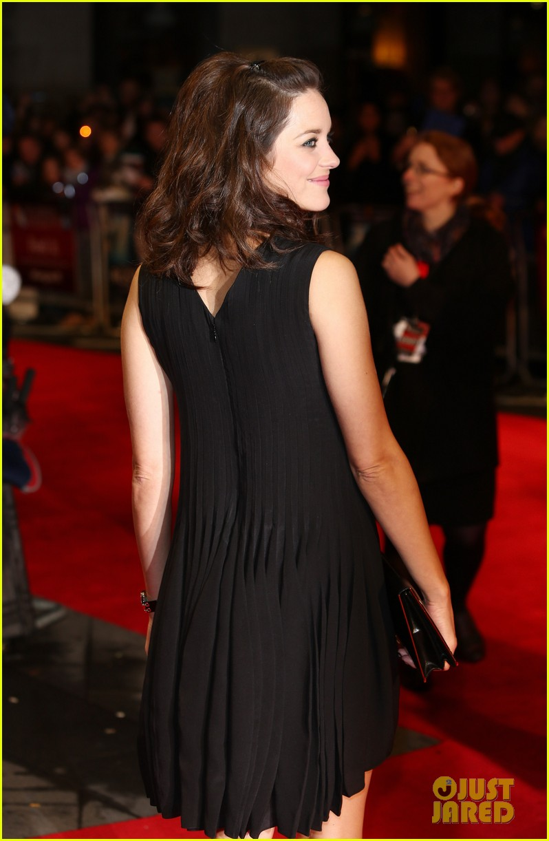 marion cotillard rust and bone london premiere 072737579