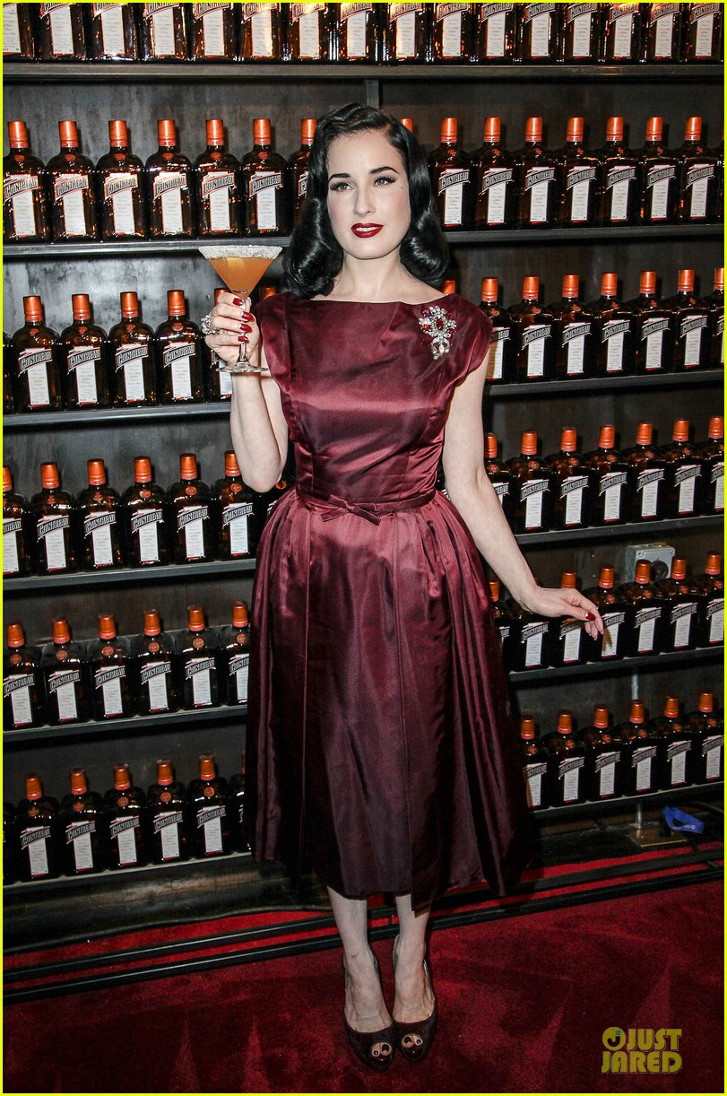dita von teese cocktail debut in new york 102739615