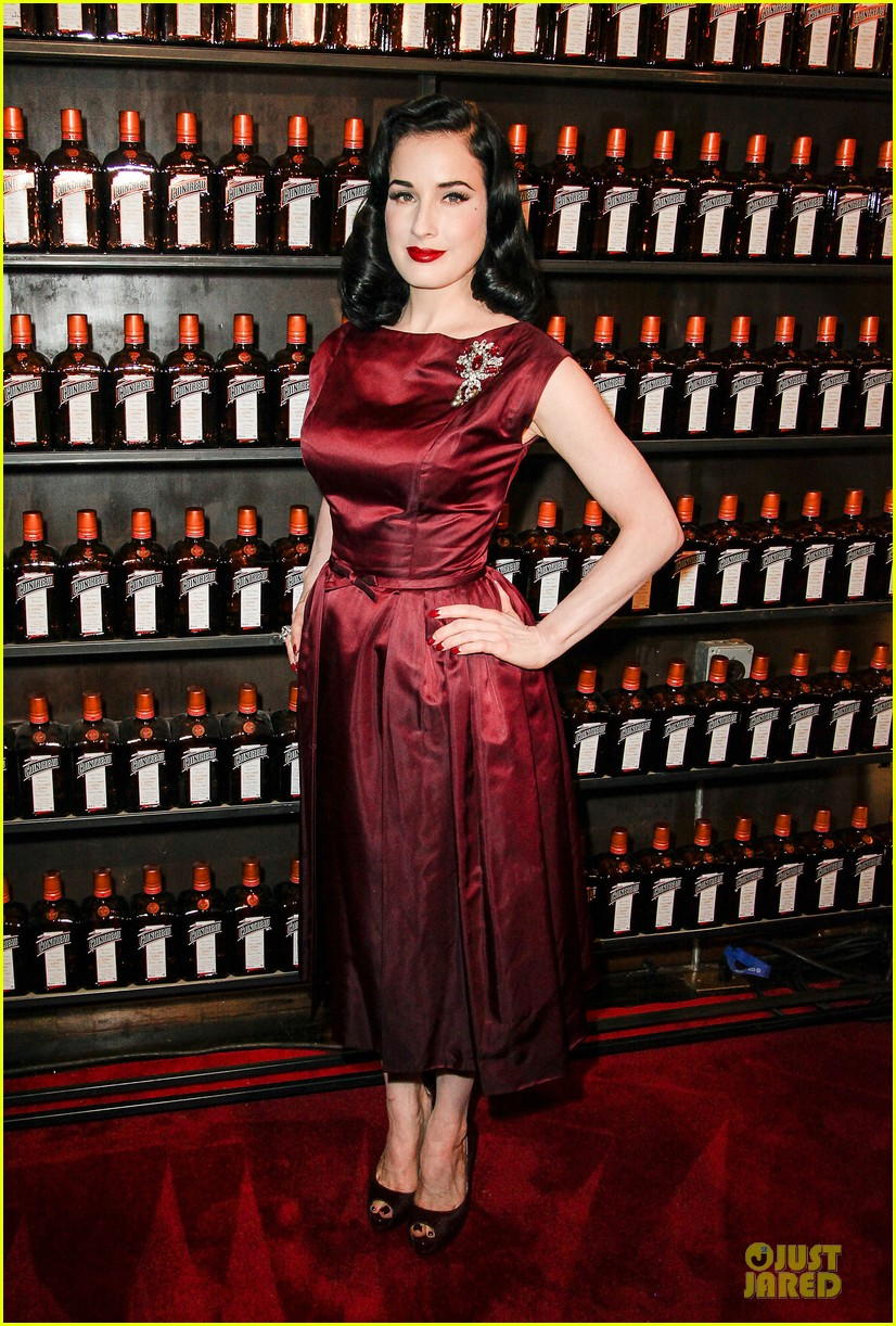 dita von teese cocktail debut in new york 122739617