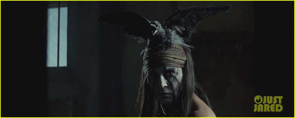johnny depp armie hammer lone ranger trailer 01