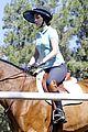 zooey deschanel horseback riding class 08