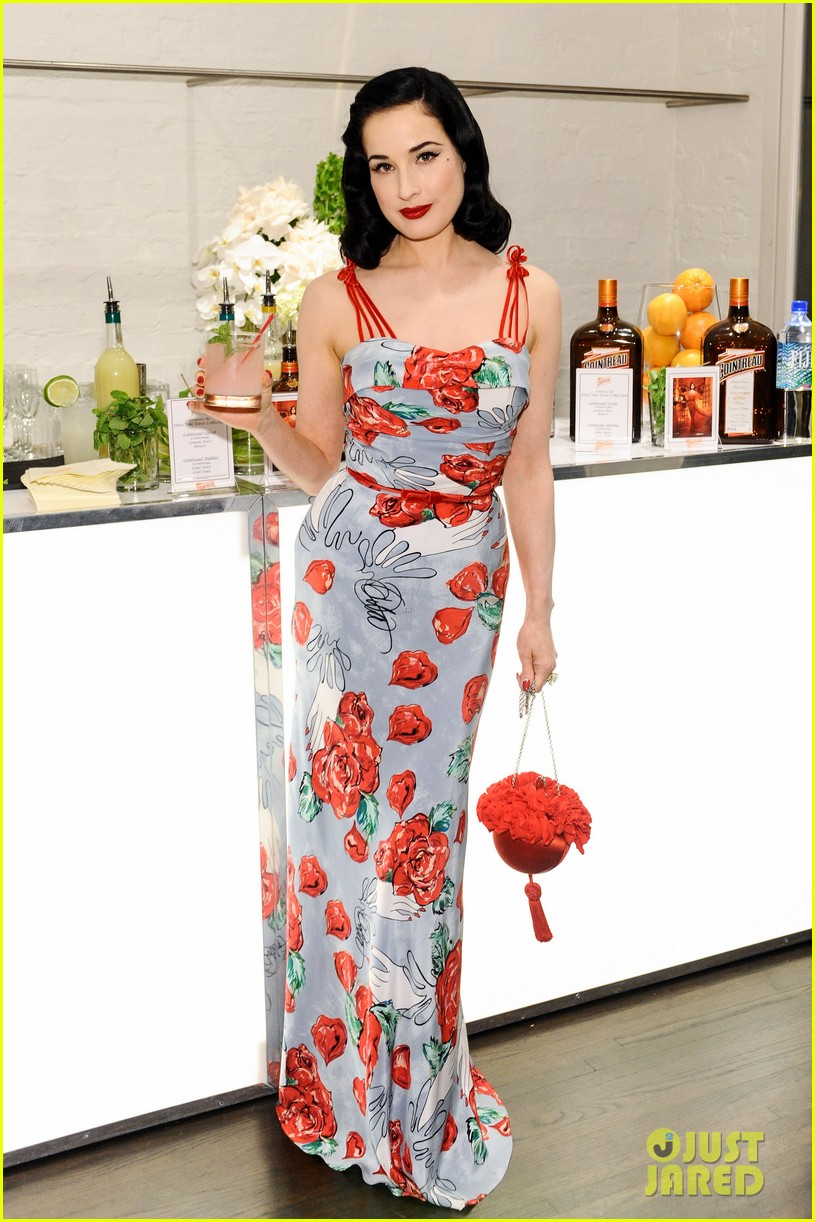 dita von teese launches dress collection los angeles 02
