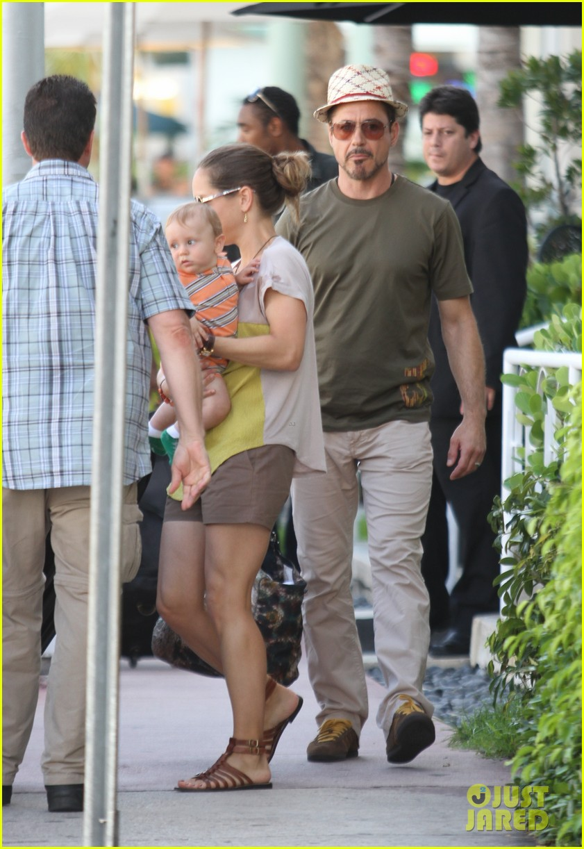 robert downey jr family outing susan and exton 01