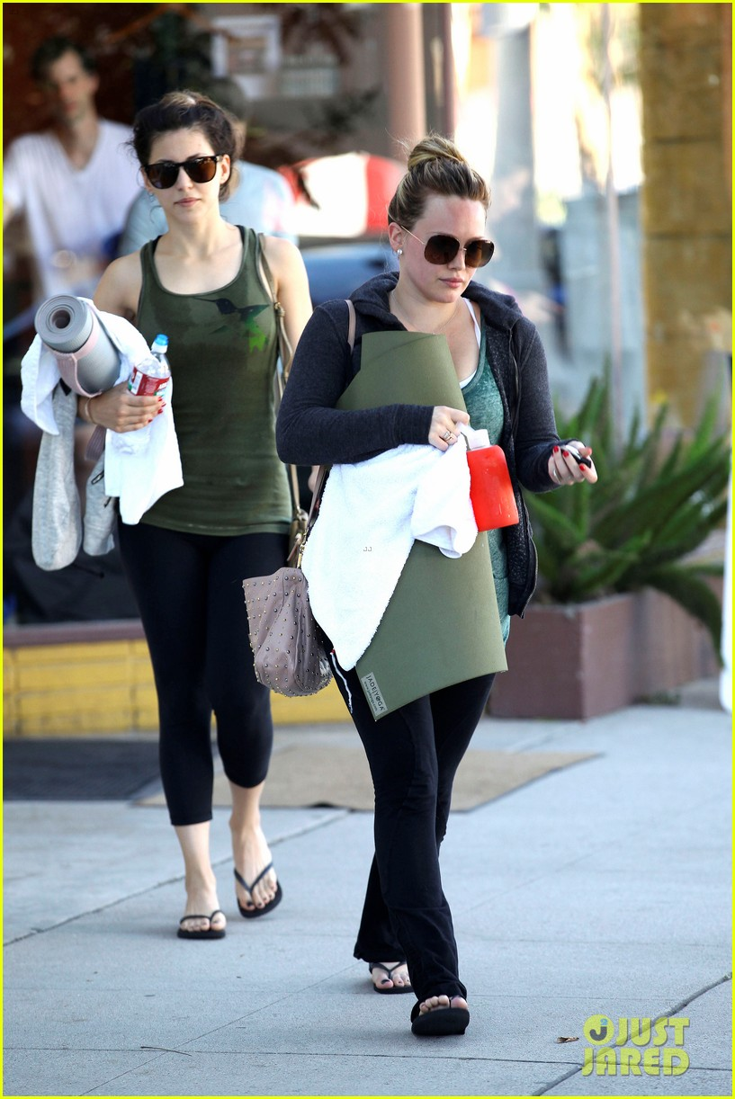 hilary duff mike comrie luca food shopping 09