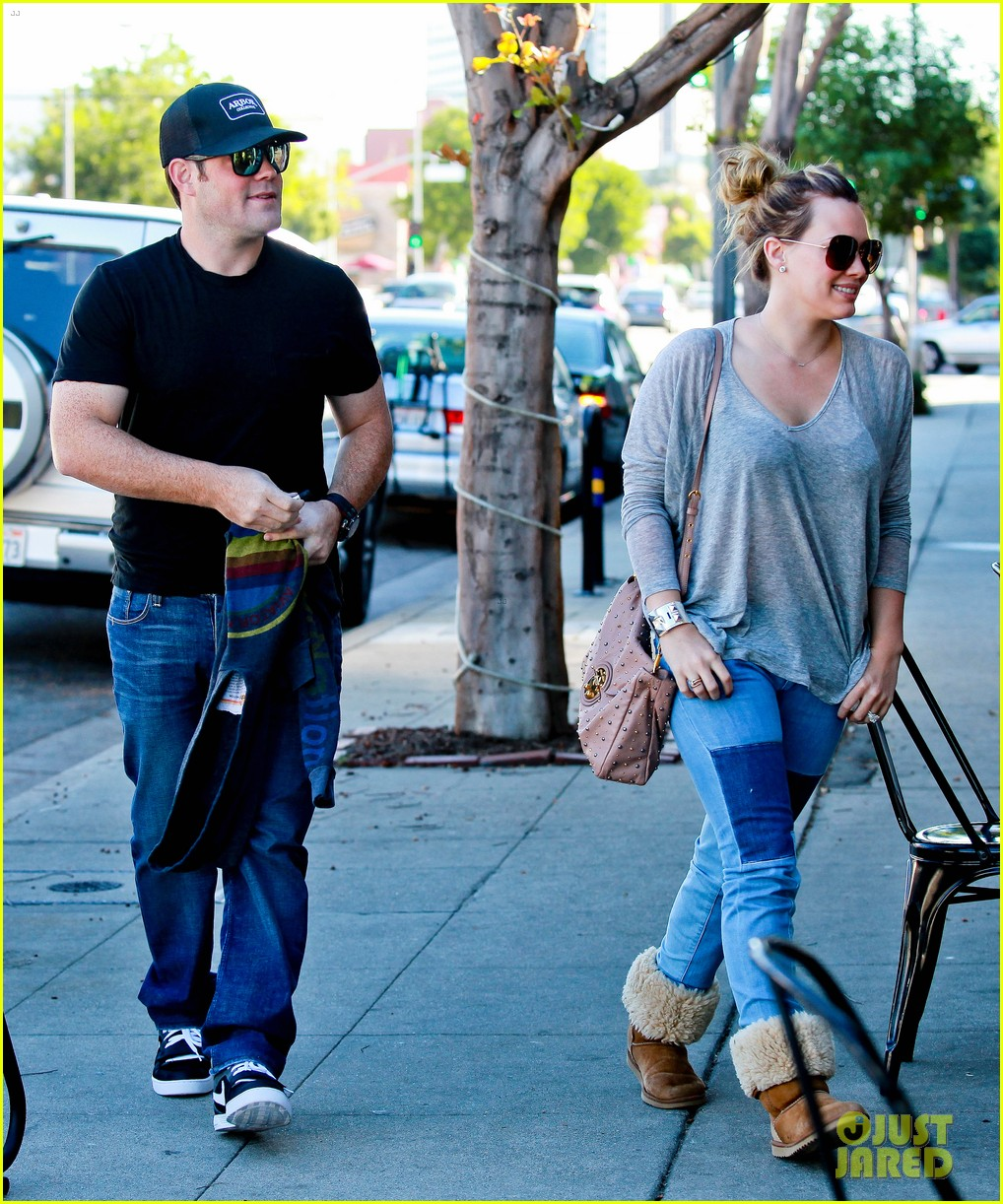 hilary duff mike comrie luca food shopping 282747041