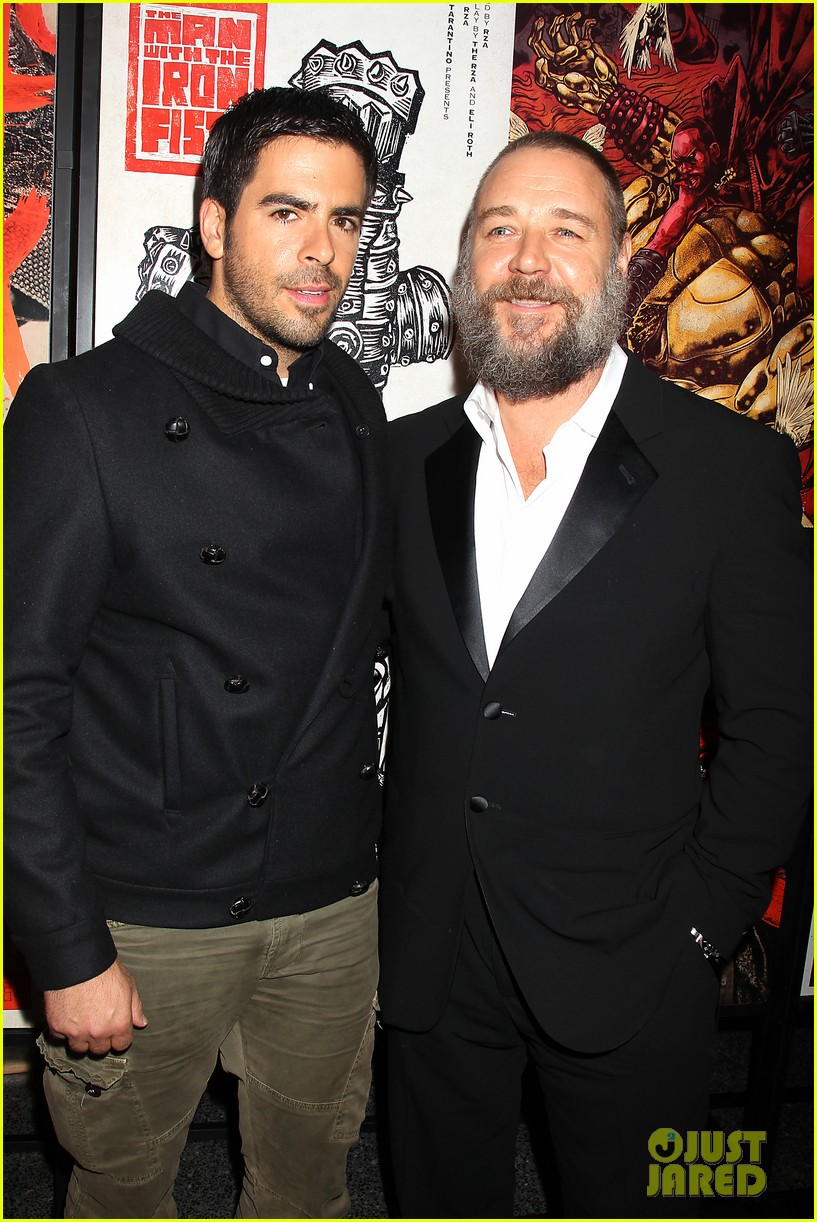 russell crowe iron fists screening 19