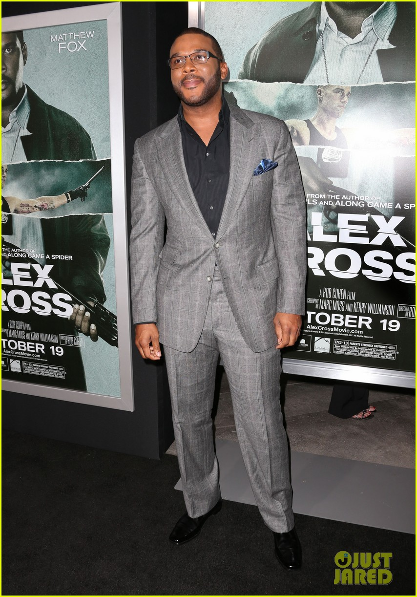 matthew fox alex cross premiere with tyler perry 052739121