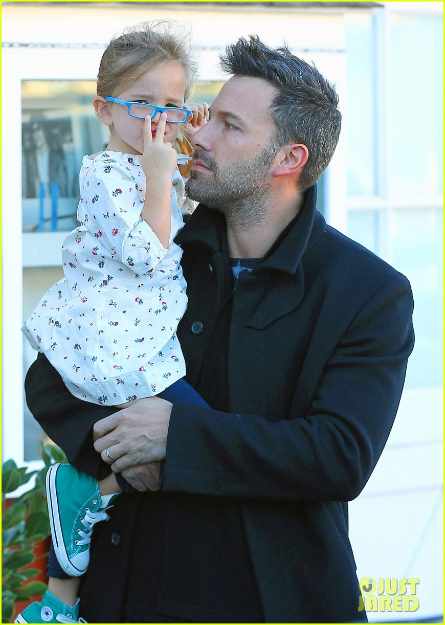 jennifer garner ben affleck brentwood breakfast with seraphina 022744853