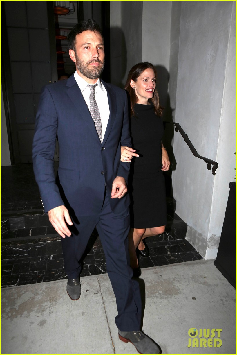 jennifer garner ben affleck fundraiser at spago 08