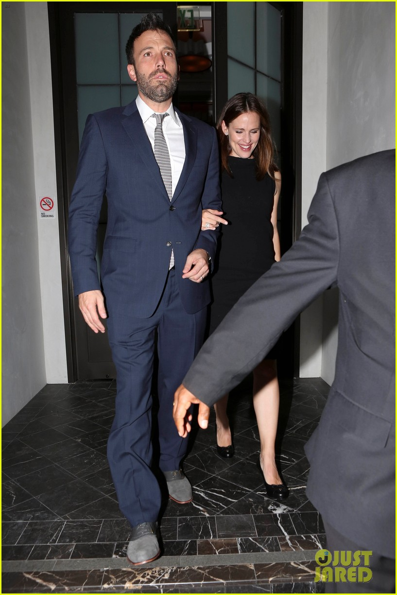 jennifer garner ben affleck fundraiser at spago 132745334