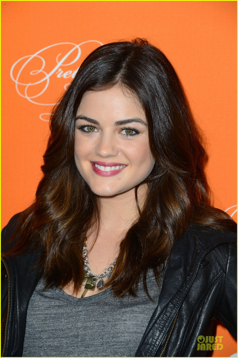 lucy hale keegan allen pretty little liars halloween episode screening 02