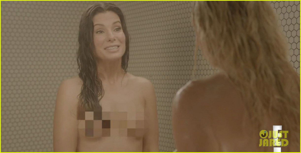 sandra bullock chelsea handler naked shower video 04