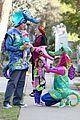 alyson hannigan alexis denisof seahorse halloween couple 08