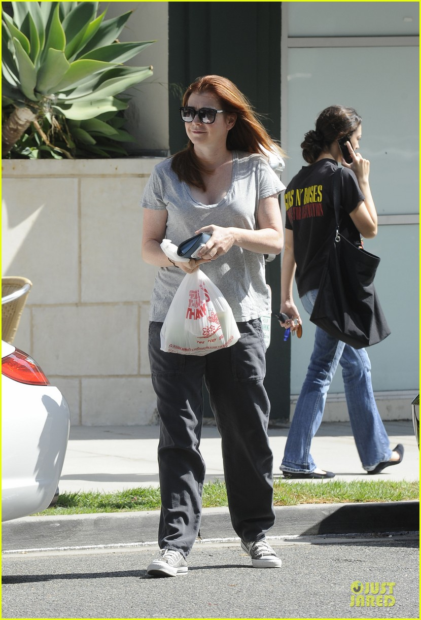alyson hannigan santa monica fun with the family 032730951