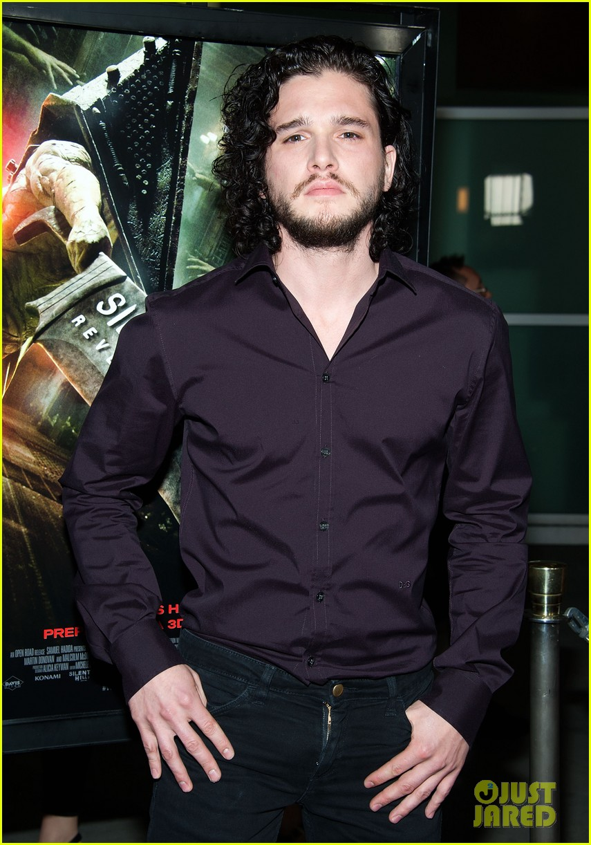 kit harington silent hill revelation 3d with adelaide clemens 01