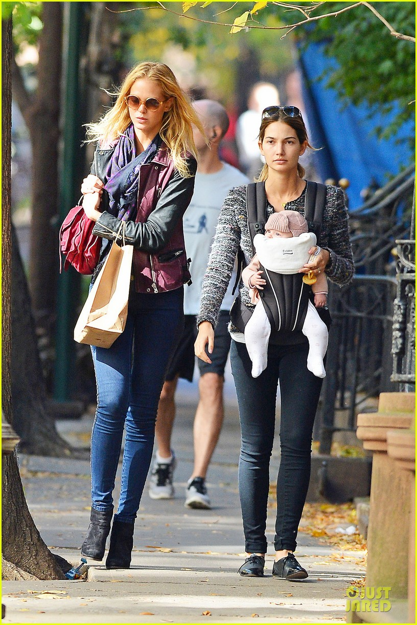 erin heatherton lily aldridge daughter dixie is godchild 072742356