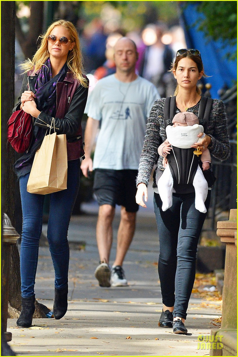 erin heatherton lily aldridge daughter dixie is godchild 08