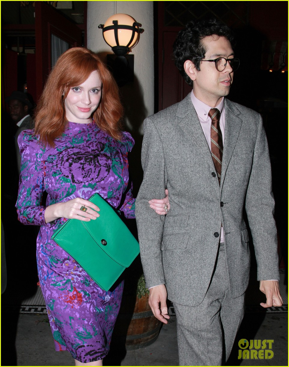 christina hendricks jon hamm separate los angeles outings 072744177