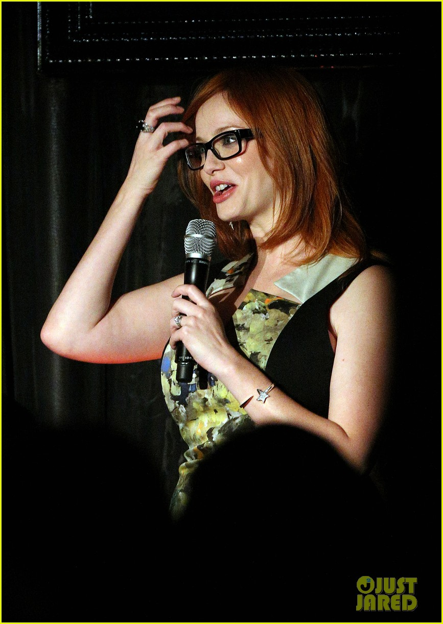 christina hendricks spec saver sydney 04