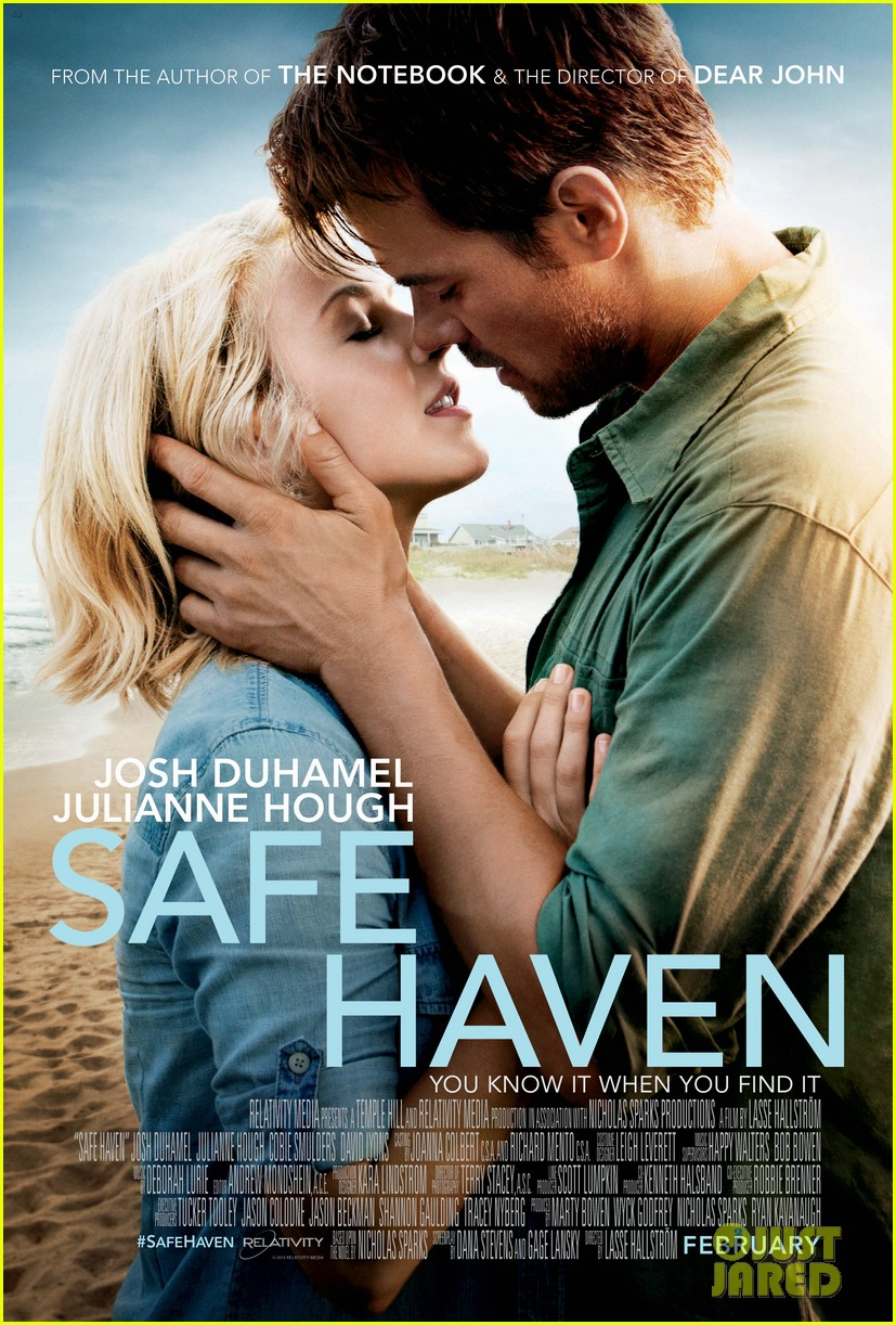 julianne hough josh duhamel safe haven poster revealed 01