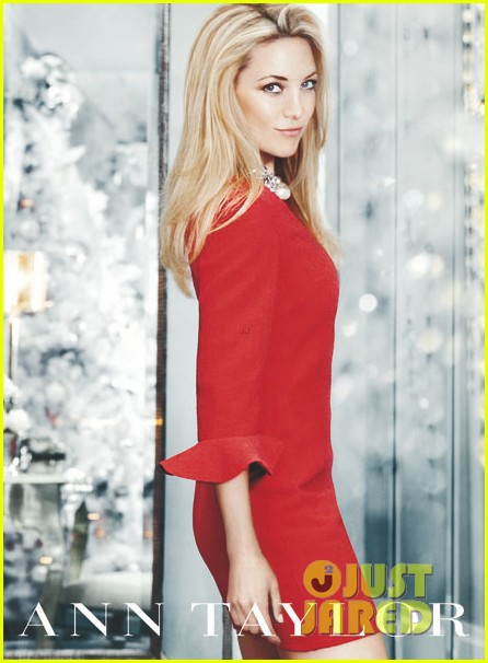 kate hudson anne taylor holiday campaign pictures 01
