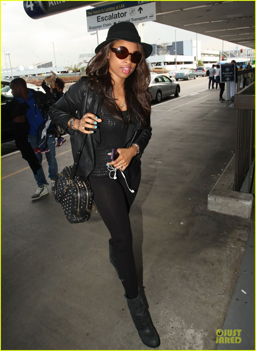 jennifer hudson lax departure with david 042737840