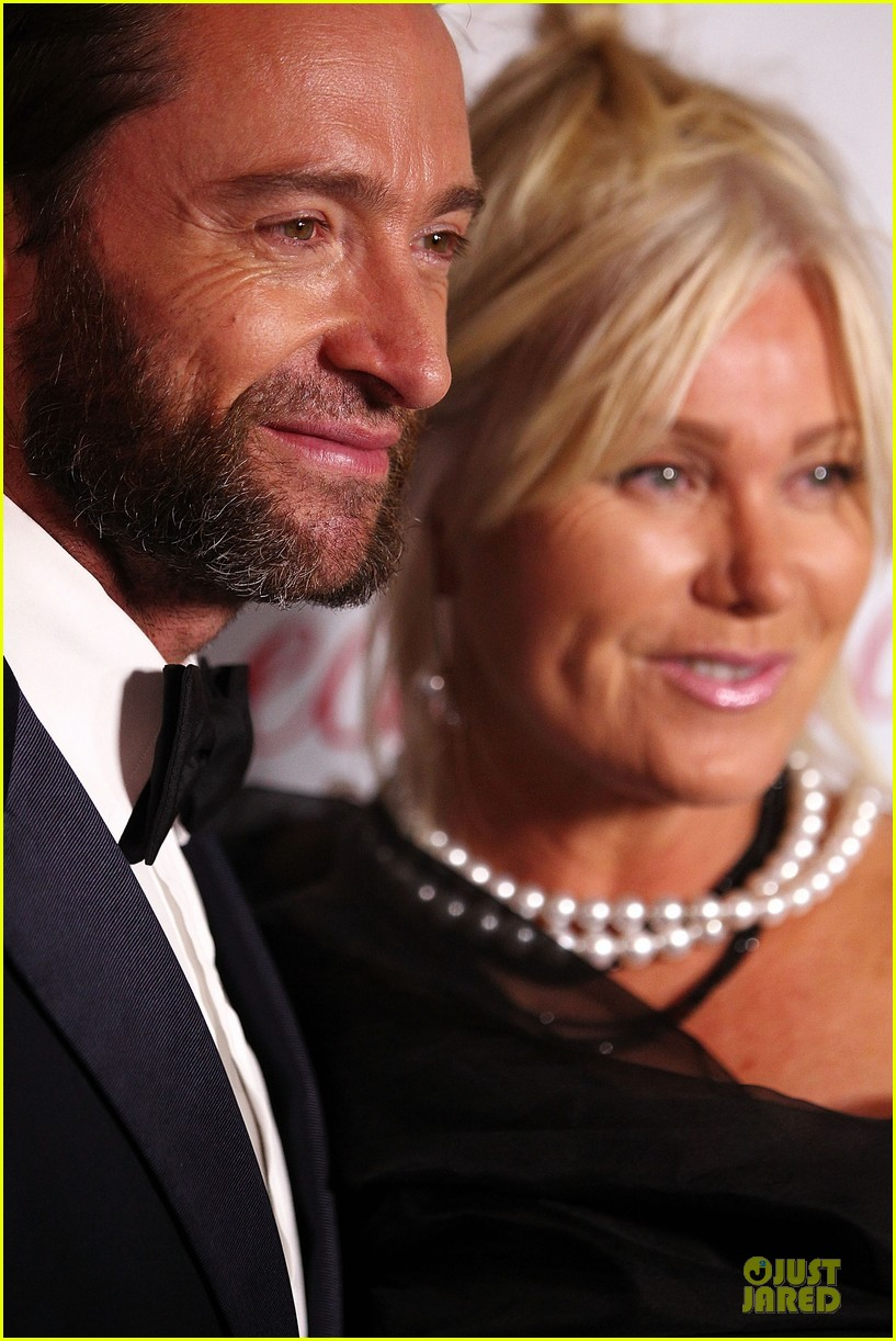 hugh jackman red ball with deborah lee furness 022741432