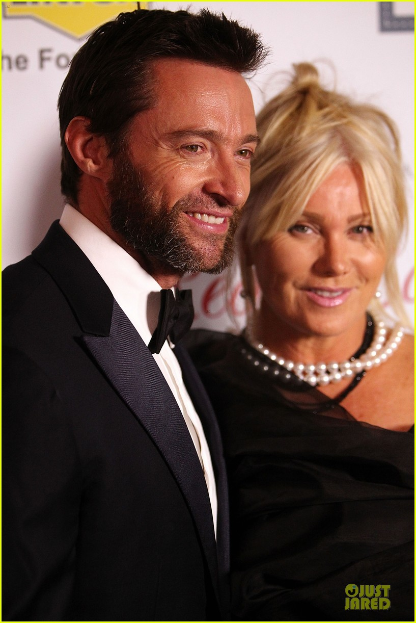 hugh jackman red ball with deborah lee furness 122741442