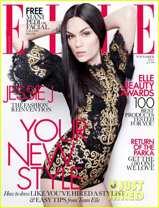 jessie j covers elle uk november 2012 01