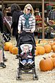 january jones pumpkin patch with xander 01