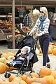 january jones pumpkin patch with xander 14