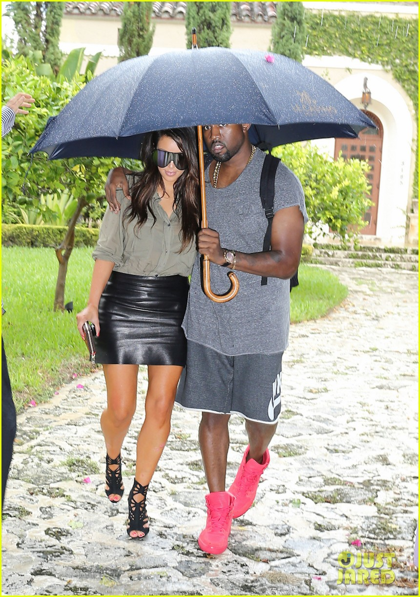 kim kardashian kanye west house hunting in miami 09