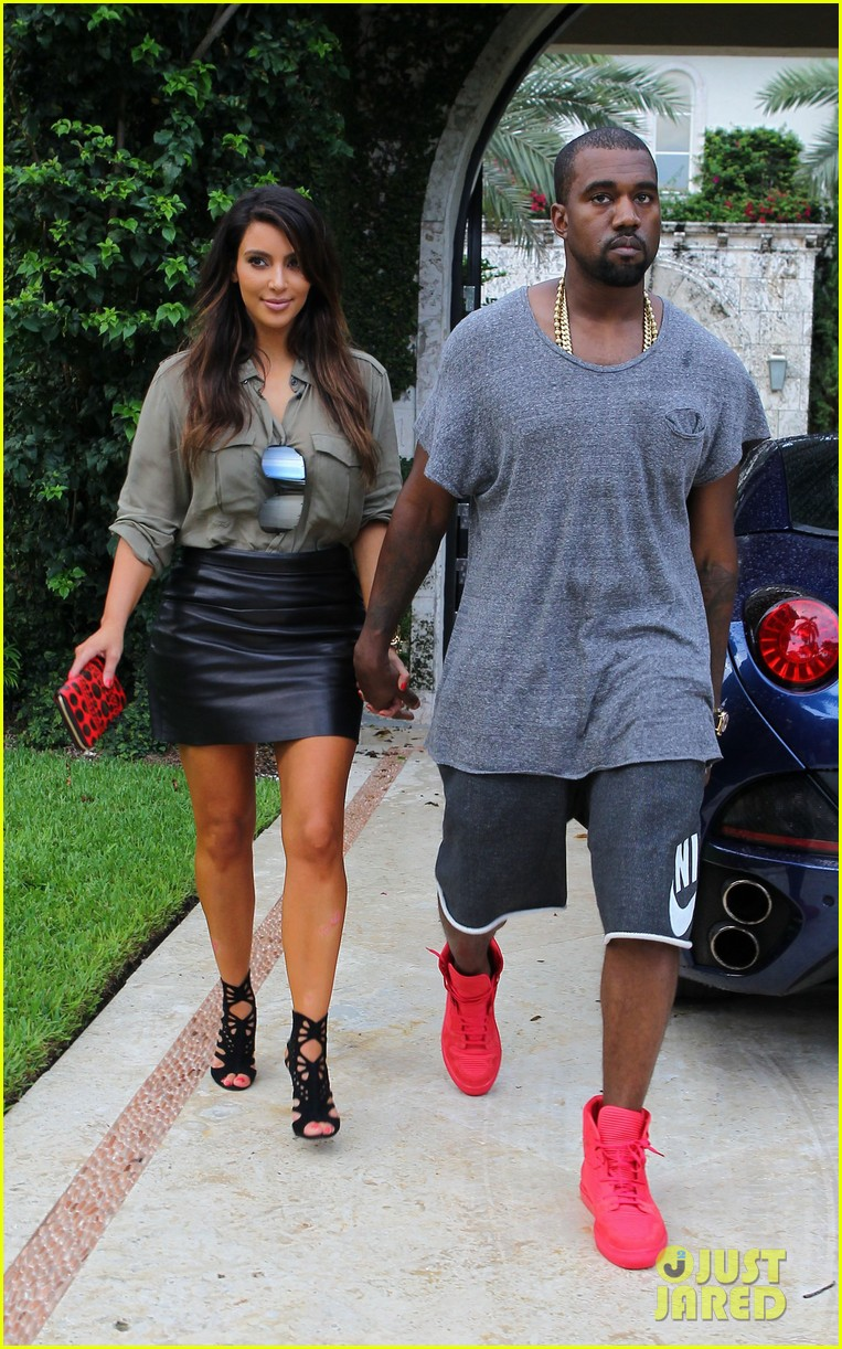kim kardashian kanye west house hunting in miami 11