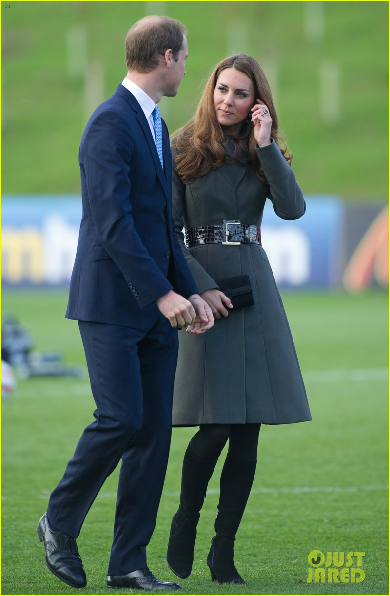 duchess kate prince william st georges park opening 14
