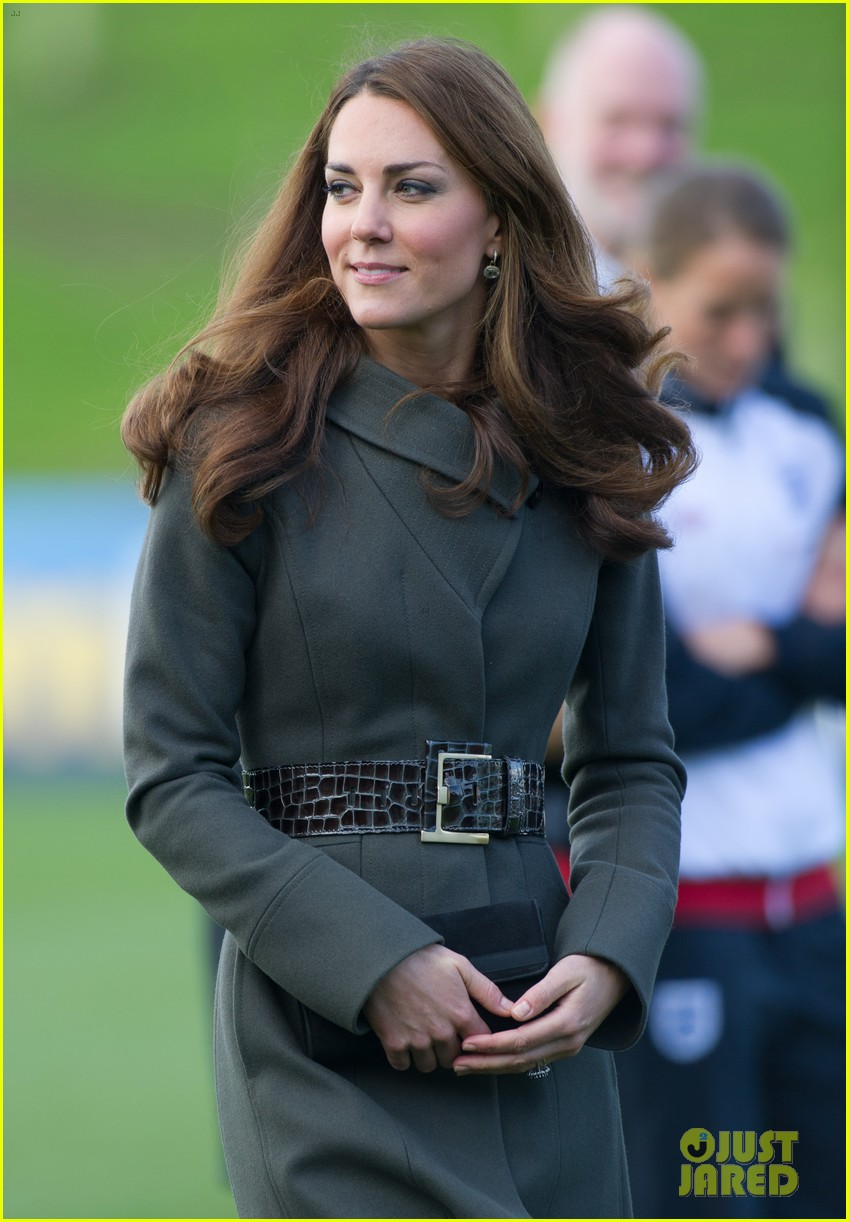 duchess kate prince william st georges park opening 16
