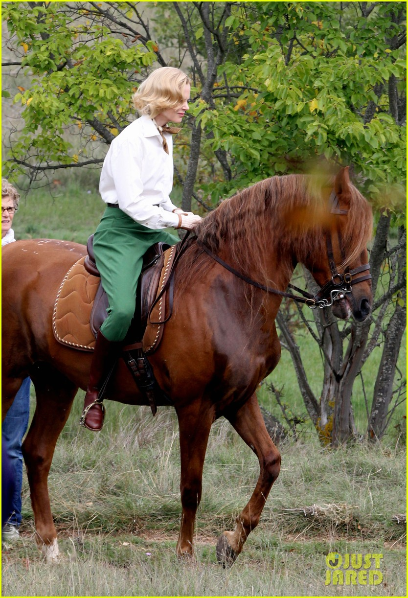 nicole kidman horseback riding for grace kelly 04