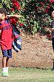 heidi klum soccer game with family 20