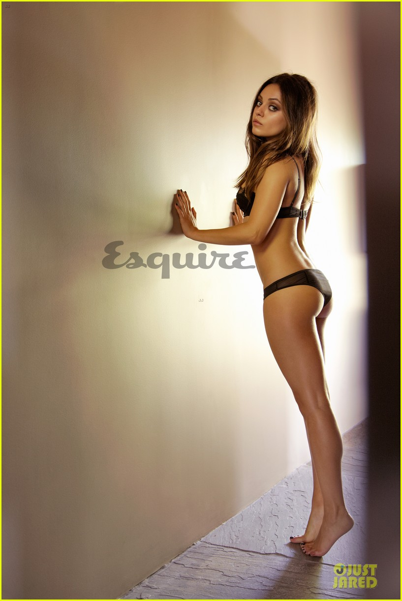 mila kunis topless esquire cover 03