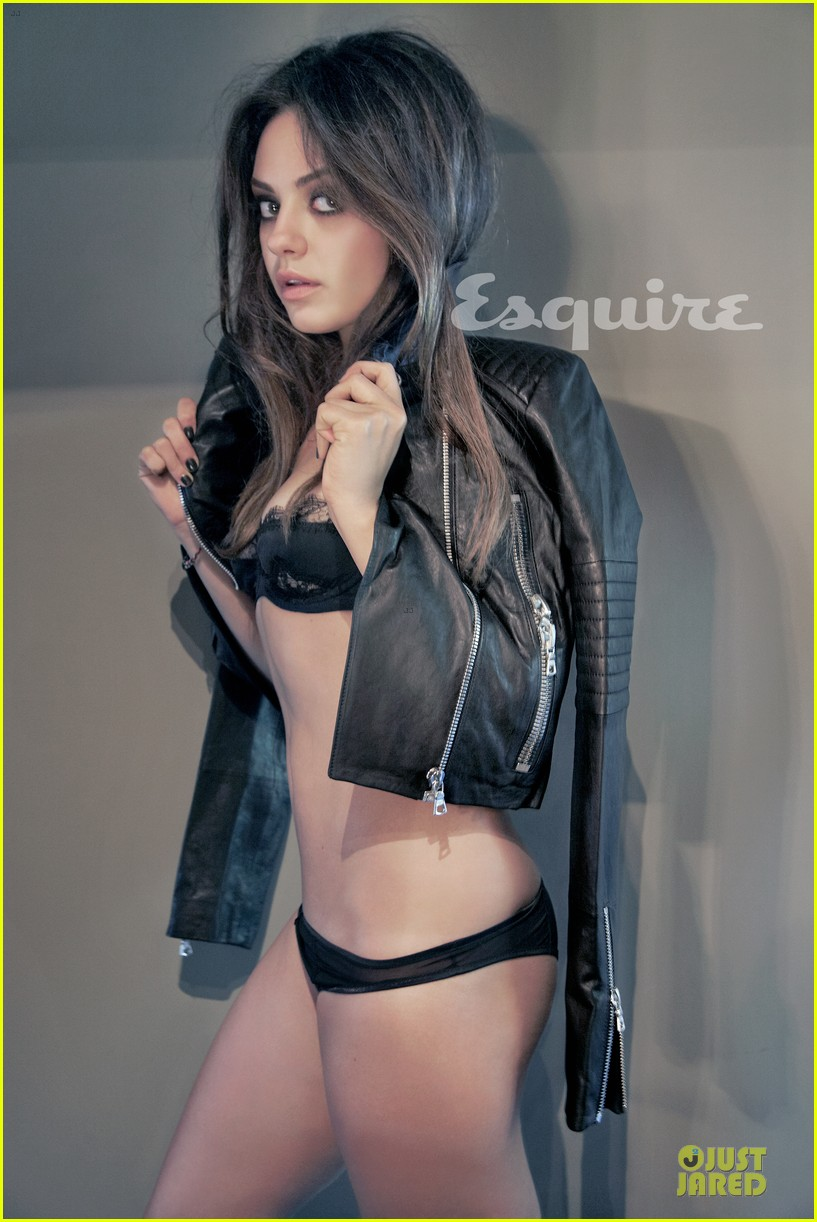 Full Sized Photo Of Mila Kunis Topless Esquire Cover 04 Photo 2734026 Just Jared