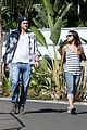 ashton kutcher mila kunis iced coffees to go 08