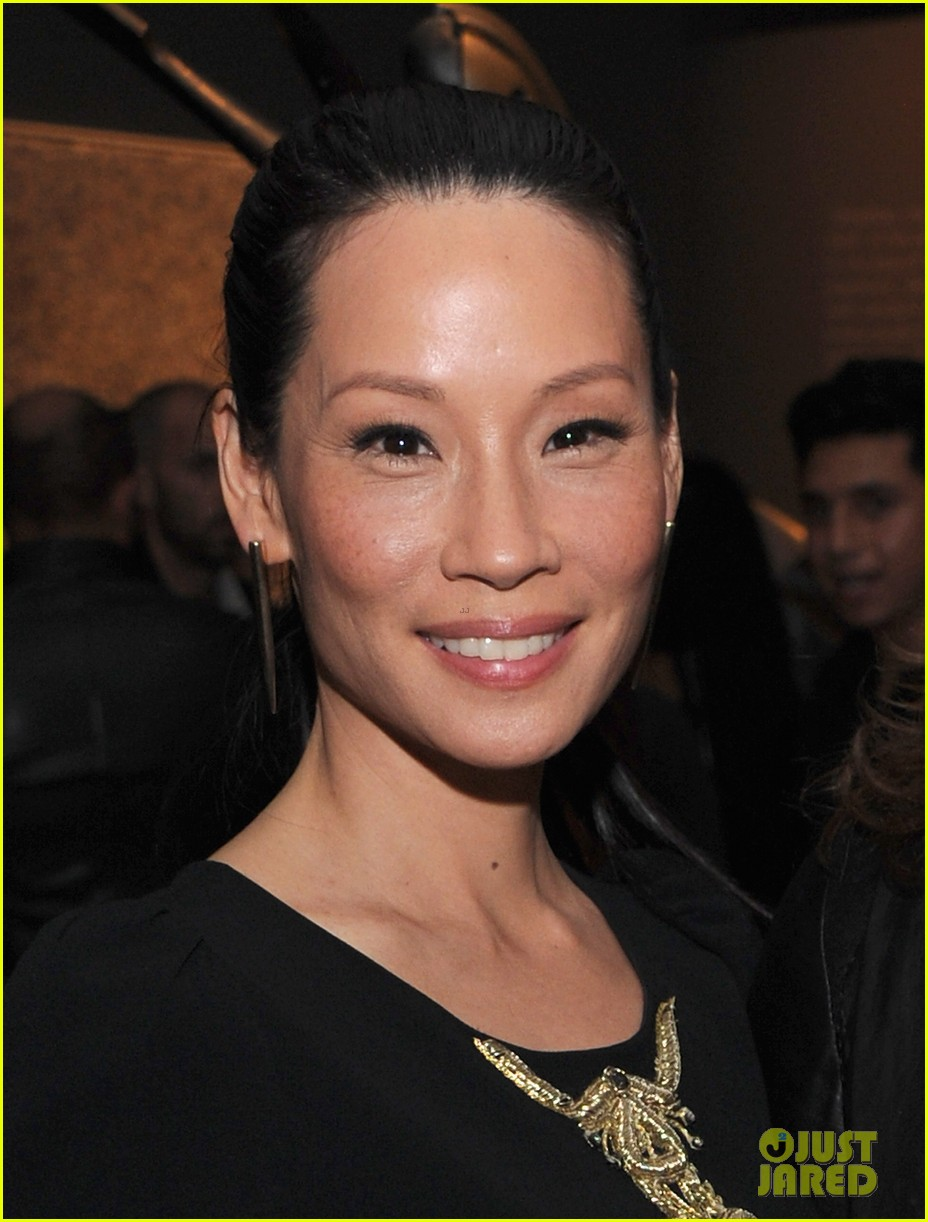 lucy liu behati prinsloo connecting the dots launch 08