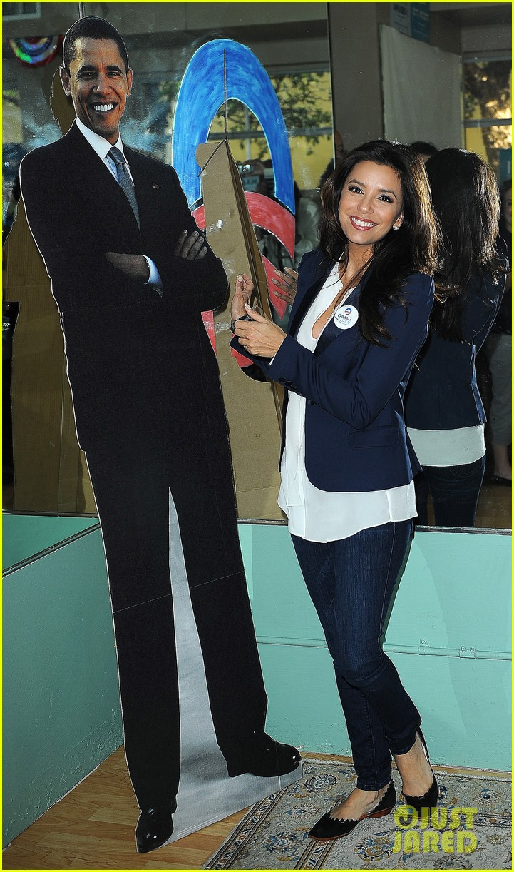 eva longoria campaigns for obama in west palm beach 03